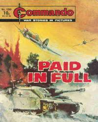 Cover Thumbnail for Commando (D.C. Thomson, 1961 series) #1280