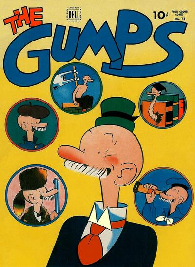 Cover for Four Color (Dell, 1942 series) #73 - The Gumps