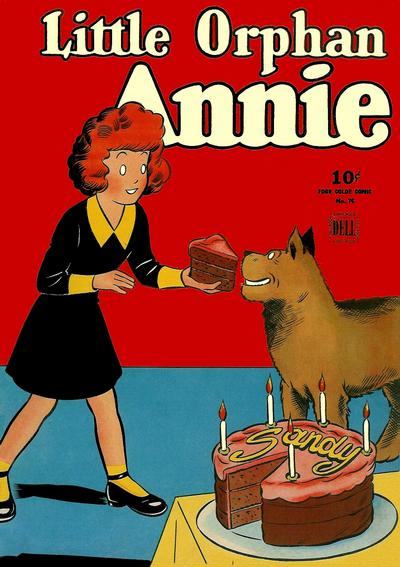 Cover for Four Color (Dell, 1942 series) #76 - Little Orphan Annie