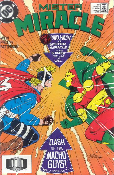Cover for Mister Miracle (DC, 1989 series) #10 [Direct]