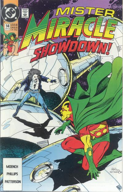 Cover for Mister Miracle (DC, 1989 series) #14 [Direct]