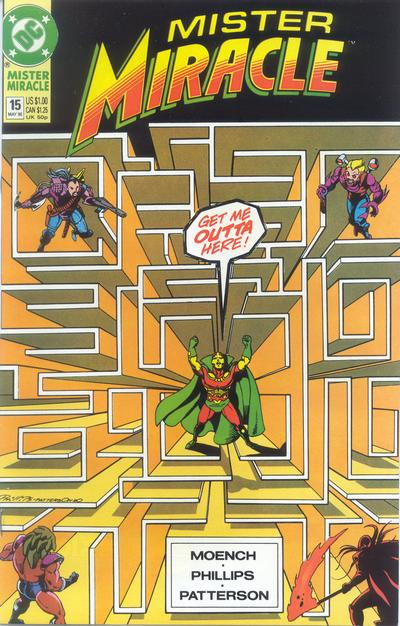 Cover for Mister Miracle (DC, 1989 series) #15 [Direct]