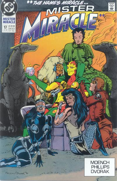Cover for Mister Miracle (DC, 1989 series) #17 [Direct]