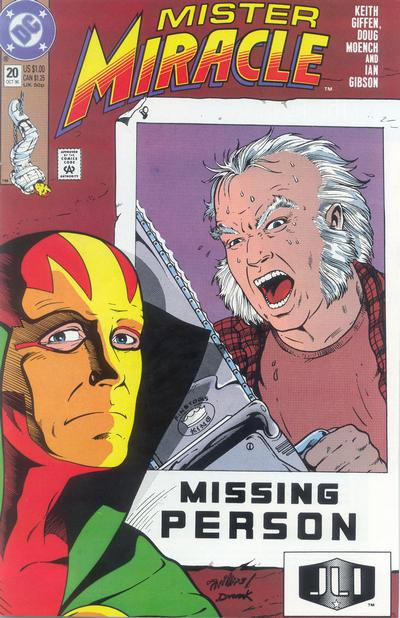 Cover for Mister Miracle (DC, 1989 series) #20 [Direct]
