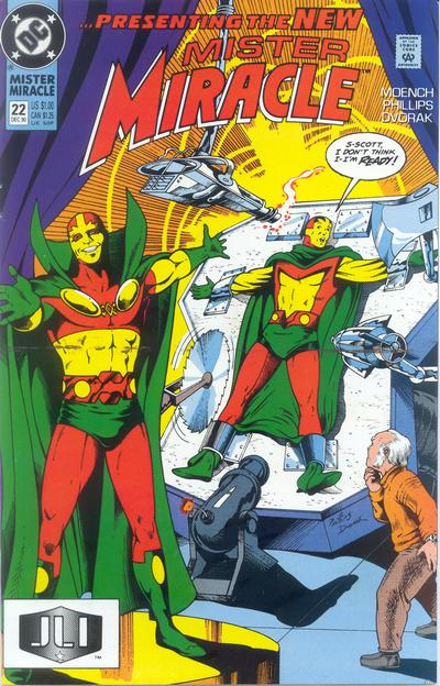 Cover for Mister Miracle (DC, 1989 series) #22 [Direct]
