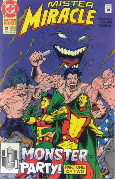 Cover for Mister Miracle (DC, 1989 series) #26 [Direct]