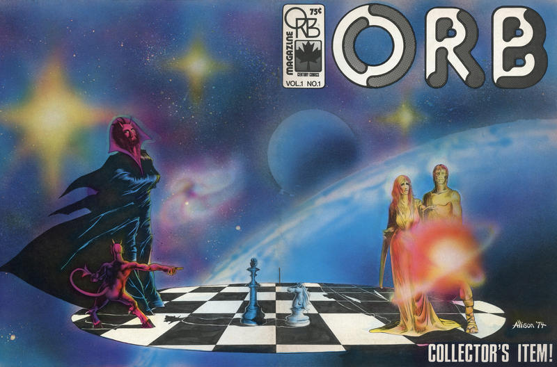 Cover for Orb Magazine (Orb Publications, 1974 series) #1