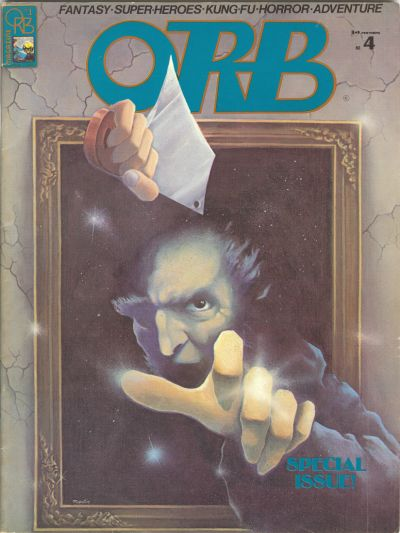 Cover for Orb Magazine (Orb Publications, 1974 series) #4