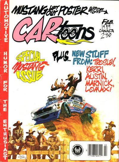Cover for CARtoons (Petersen Publishing, 1961 series) #v30#1 [170]
