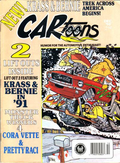 Cover for CARtoons (Petersen Publishing, 1961 series) #v31#6 [181]