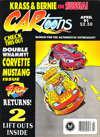 Cover for CARtoons (Petersen Publishing, 1961 series) #v31#8 [183]