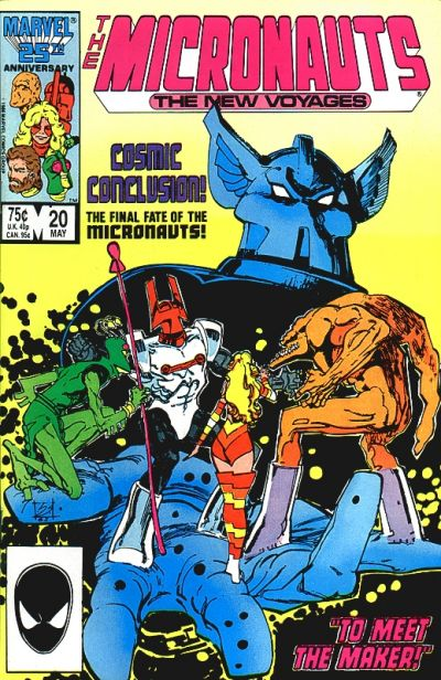 Cover for Micronauts (Marvel, 1984 series) #20