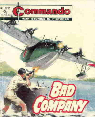 Cover for Commando (D.C. Thomson, 1961 series) #1265