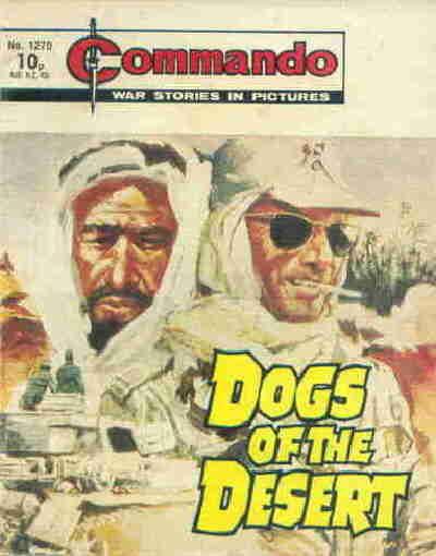 Cover for Commando (D.C. Thomson, 1961 series) #1270