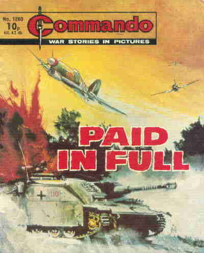 Cover for Commando (D.C. Thomson, 1961 series) #1280