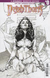 Cover Thumbnail for Dejah Thoris (2018 series) #0 [Cover B Black and White]