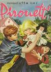 Cover for Pirouett' (Impéria, 1962 series) #55