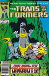 Cover for The Transformers (Marvel, 1984 series) #8 [Newsstand]