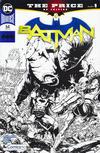 Cover for Batman (DC, 2016 series) #64 [ComicsPro Chris Burnham Black and White Cover]
