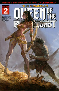 Cover Thumbnail for The Cimmerian: Queen of the Black Coast (Ablaze Publishing, 2020 series) #2 [Cover A]