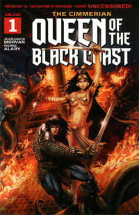Cover Thumbnail for The Cimmerian: Queen of the Black Coast (Ablaze Publishing, 2020 series) #1 [Cover A: Jason Metcalf]
