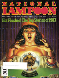 Cover Thumbnail for National Lampoon Magazine (21st Century / Heavy Metal / National Lampoon, 1970 series) #v2#54