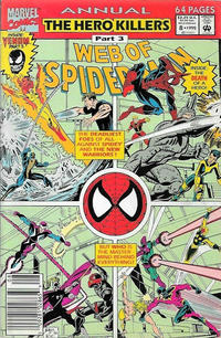 Cover Thumbnail for Web of Spider-Man Annual (Marvel, 1985 series) #8 [Newsstand]