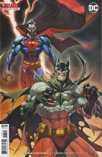 Cover Thumbnail for Batman / Superman (DC, 2019 series) #3 [Paolo Pantalena DCeased Variant Cover]