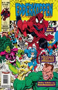 Cover for Edderkoppen (Semic, 1984 series) #11/1993