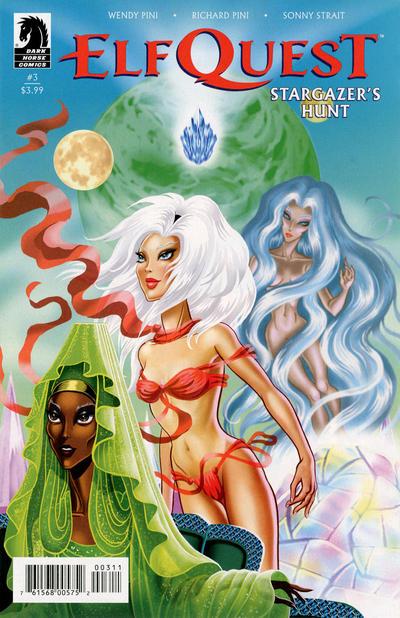 Cover for ElfQuest: Stargazer's Hunt (Dark Horse, 2019 series) #3