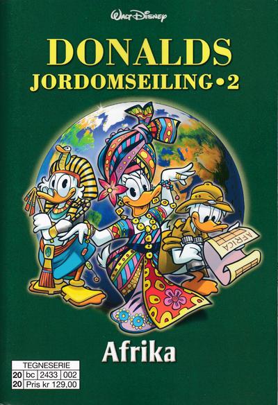 Cover for Donalds jordomseiling (Hjemmet / Egmont, 2020 series) #2 - Afrika