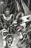 Cover Thumbnail for The Batman Who Laughs (2019 series) #1 [Unknown Comics Mico Suayan Minimal Trade Dress Black and White Cover]