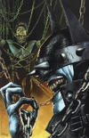 Cover Thumbnail for The Batman Who Laughs (2019 series) #1 [Unknown Comics Mico Suayan Virgin Cover]