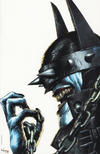 Cover Thumbnail for The Batman Who Laughs (2019 series) #1 [Unknown Comics Mico Suayan Without Background Color Virgin Cover]