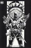 Cover Thumbnail for The Batman Who Laughs (2019 series) #1 [Yesteryear Comics Jason Fabok Minimal Trade Dress Black and White Cover]