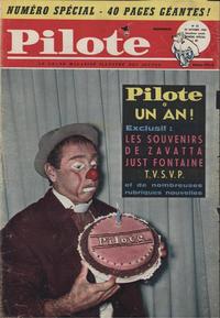 Cover Thumbnail for Pilote (Dargaud, 1960 series) #52