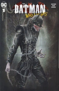 Cover Thumbnail for The Batman Who Laughs (DC, 2019 series) #1 [Comic Market Street Natali Sanders Cover]