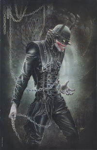 Cover Thumbnail for The Batman Who Laughs (DC, 2019 series) #1 [Comic Market Street Natali Sanders Virgin Cover]