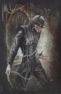 """Cover Thumbnail for The Batman Who Laughs (DC, 2019 series) #1 [Comic Market Street Natali Sanders """"Bloody"""" Virgin Cover]"""