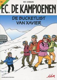 Cover Thumbnail for F.C. De Kampioenen (Standaard Uitgeverij, 1997 series) #101 - De bucketlist van Xavier