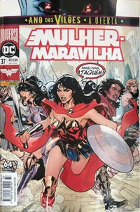 Cover Thumbnail for Mulher-Maravilha (Panini Brasil, 2017 series) #37