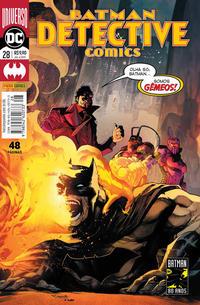 Cover Thumbnail for Detective Comics (Panini Brasil, 2017 series) #28