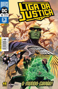 Cover Thumbnail for Liga da Justiça (Panini Brasil, 2019 series) #9