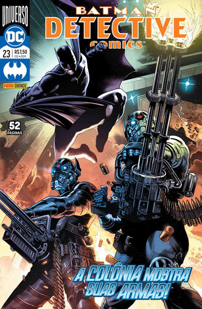 Cover for Detective Comics (Panini Brasil, 2017 series) #23