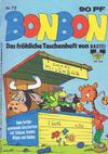 Cover for Bonbon (Bastei Verlag, 1973 series) #72