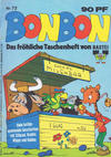 Cover for Bonbon (Bastei Verlag, 1973 series) #72