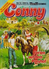 Cover Thumbnail for Conny (Bastei Verlag, 1981 series) #13