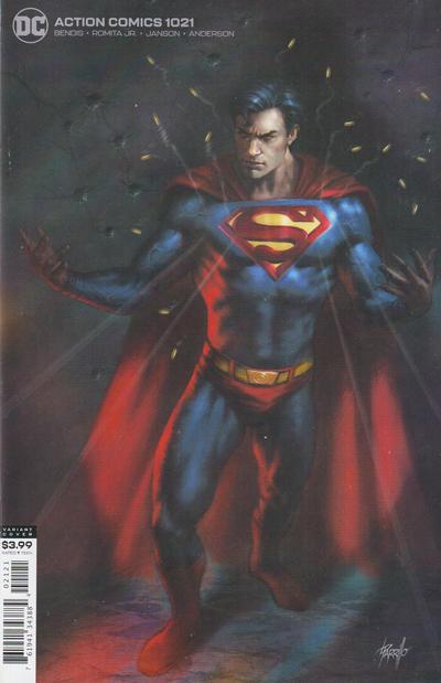 Cover for Action Comics (DC, 2011 series) #1021 [John Romita Jr. & Klaus Janson Cover]