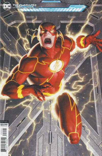 Cover for The Flash (DC, 2016 series) #752 [Howard Porter Cover]