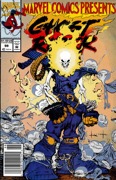 Cover for Marvel Comics Presents (Marvel, 1988 series) #99 [Newsstand]